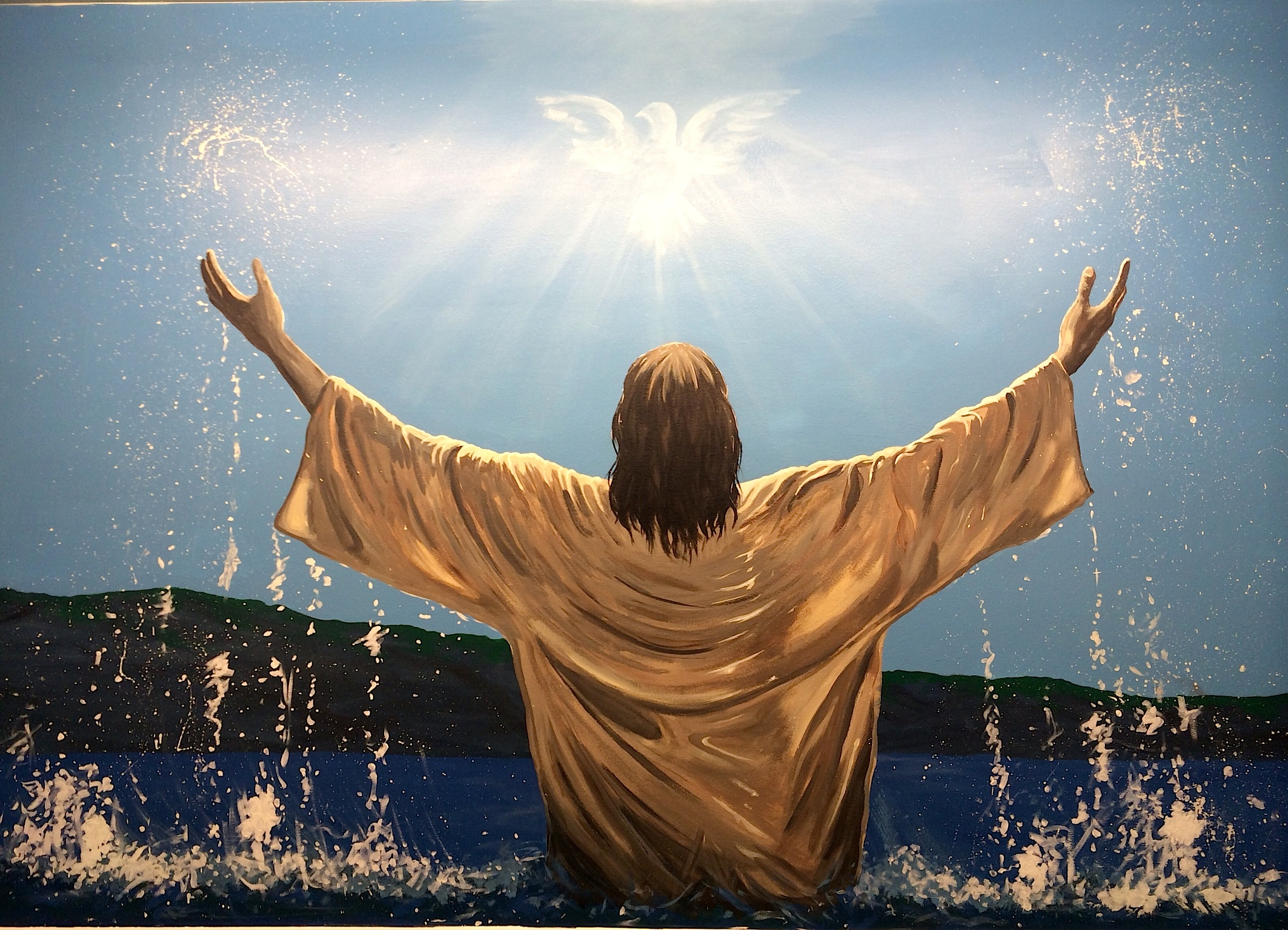 an introduction to the baptism of jesus Child baptism - age considerations  young children who have been taught from the bible find it easy to believe in jesus, in miracles and in the supernatural.